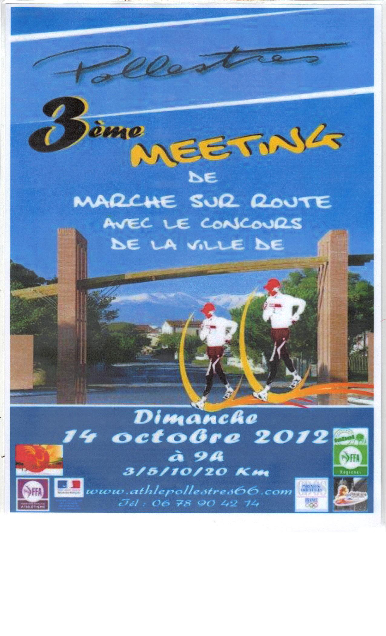 3er. MEETING DE POLLESTRES